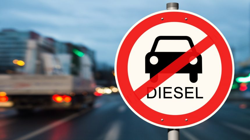 Wertverfall bei alten Dieselfahrzeugen